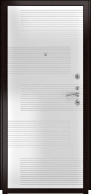 ПВХ 185 (10мм, белая эмаль)