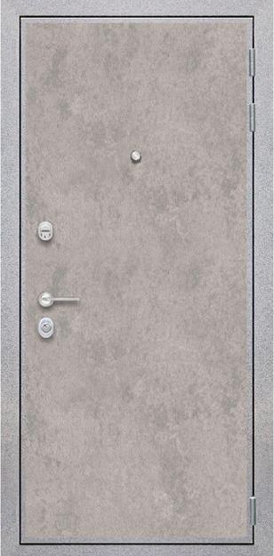 Стальная дверь Лофт Бетон