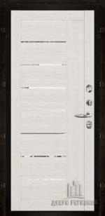2110 Капучино велюр с зеркальными вставками