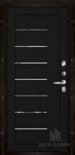 2110 Шоко велюр с зеркальными вставками
